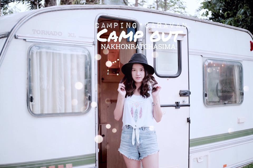 แคมป์เอาว์ โคราช (Camp Out Korat) ที่พักเปิดใหม่ โคราช ที่พักชิวๆ สไตล์รถบ้าน