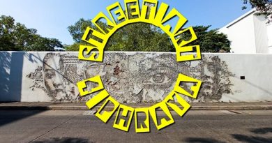 Street art สี่พระยาถึงวัดม่วงแค เก็บภาพสวยๆบนถนนเจริญกรุง